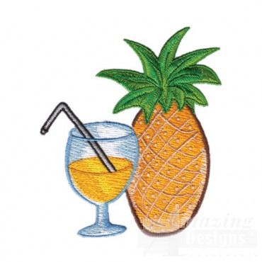 Drink and Pineapple
