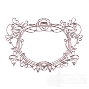Classical Heart Frame