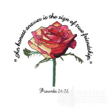 Proverbs 24:26