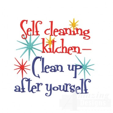Self Cleaning Kitchen