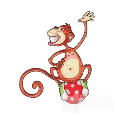 Monkey On A Ball