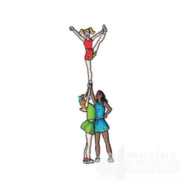 Cheerleading Stunt