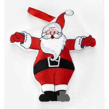 In the Hoop Christmas Ornaments