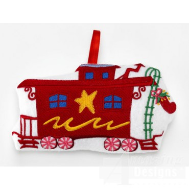 Caboose Ornament