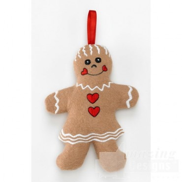 Gingerbread Lady Ornament