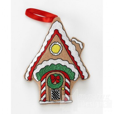 Gingerbread House Ornament 2