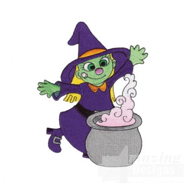 Witch and Kettle