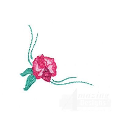 Pink Corner Flower