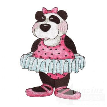 Panda in a Pink Tutu