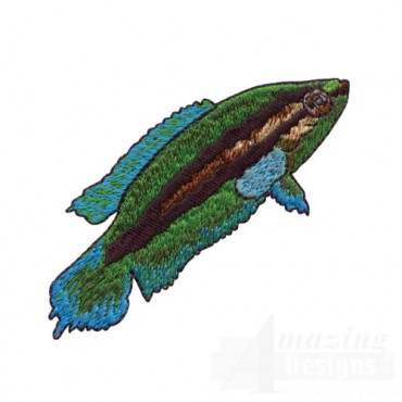 Blue and Green Fish