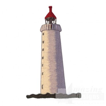 Lighthouse with Red Roof