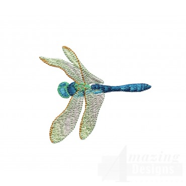 Swndd204 Dragonfly Embroidery Design