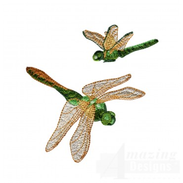 Swndd206 Dragonfly Embroidery Design