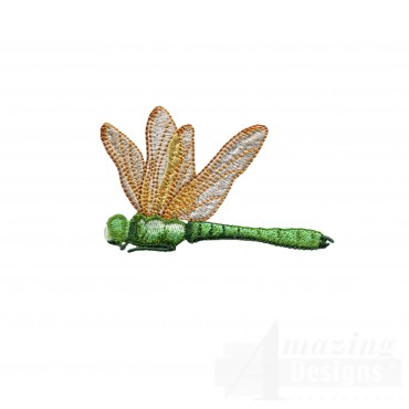 Swndd209 Dragonfly Embroidery Design