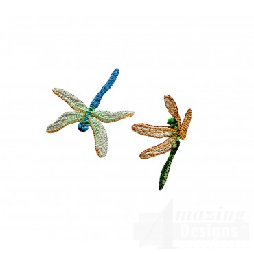 Swndd210 Dragonfly Embroidery Design