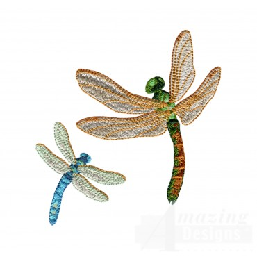Swndd211 Dragonfly Embroidery Design
