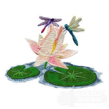 Swndd233 Dragonfly Embroidery Design