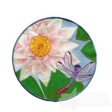 Swndd235 Dragonfly Embroidery Design