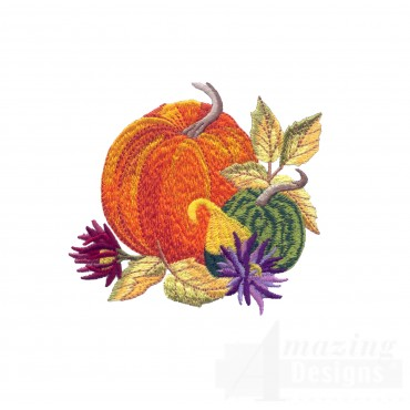 Swngold103 Golden Days Of Fall Embroidery Design