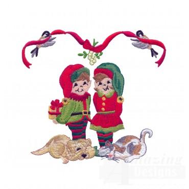 Swnsh207 Santas Workshop Embroidery Design