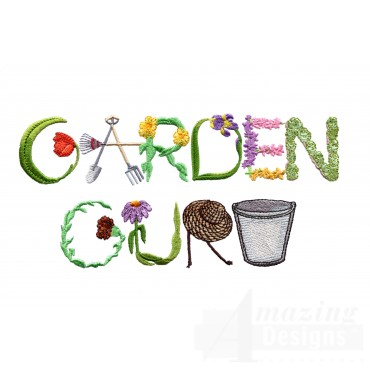 Garden Guru Embroidery Design