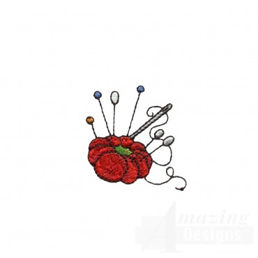 Sew113 Pin Cushion Embroidery Design