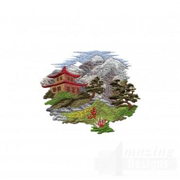 Swngg123 A Geishas Garden Embroidery Design