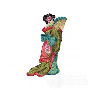 Swngg134 A Geishas Garden Embroidery Design