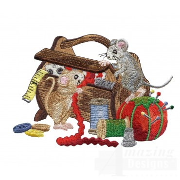 Mice In Notion Box