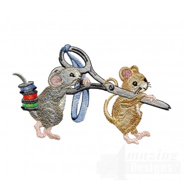 Mice With Scissors