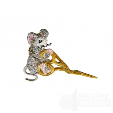 Mouse With Scissors