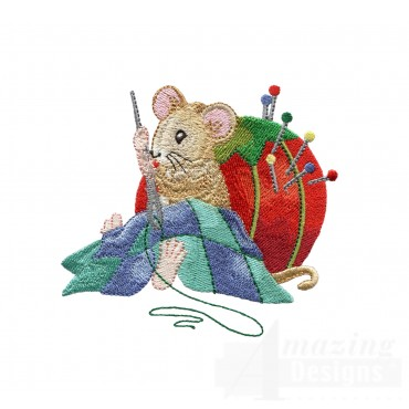 Hand Sewing Mouse