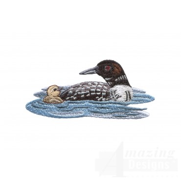 Loon And Duckling 7