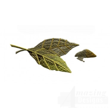 Bay Leaves Embroidery Design