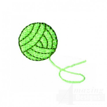 Yarn Embroidery Design