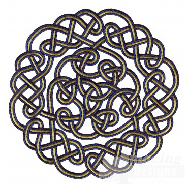 Circle Knot 3 Embroidery Design