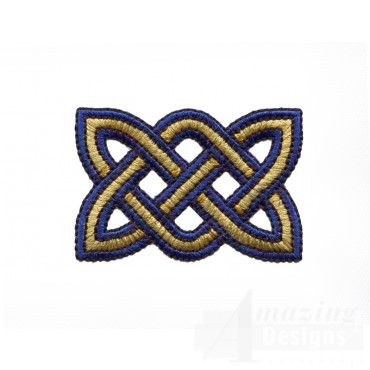 Small Rectangle Celtic Knot Embroidery Design