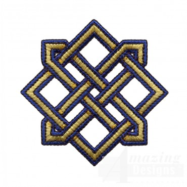 Diamond Celtic Knot 2 Embroidery Design