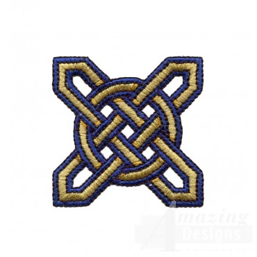 Star Celtic Knot Embroidery Design