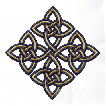 Diamond Celtic Knot Embroidery Design