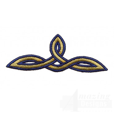 Triangle Celtic Knot Embroidery Design