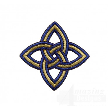 Diamond Celtic Knot Embroidery Design