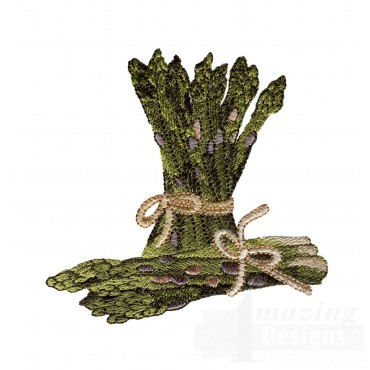 Asparagus Embroidery Design