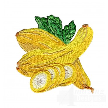 Squash Embroidery Design