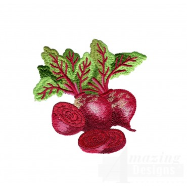 Beet Bunch Embroidery Design