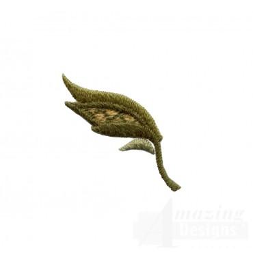 Autumn Crewel Leaf Embroidery Design