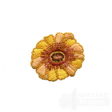 Autumn Crewel Flower Embroidery Design