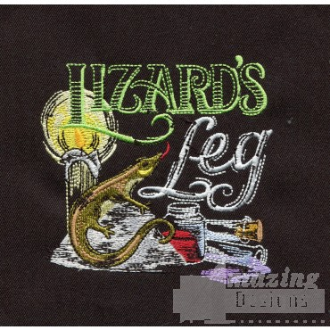 Lizards Leg Embroidery Design