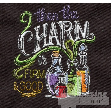 Charms And Potions Embroidery Design