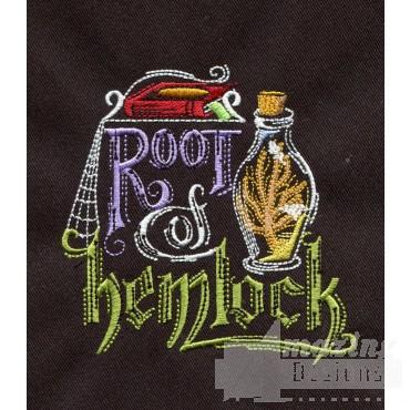 Root Of Hemlock Embroidery Design